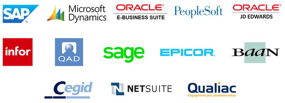 Logos ERP compatibles