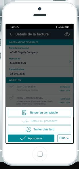 Application mobile de validation des demandes d'achat - Esker Anywhere