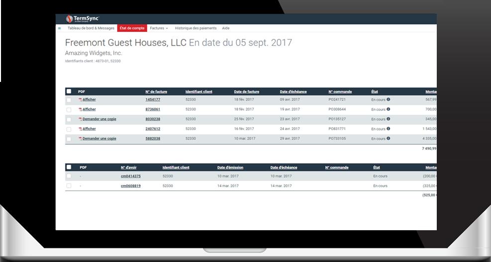 Portail web Esker pour faciliter la vie des clients