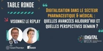 Digitalisation dans le secteur pharmaceutique & médical...